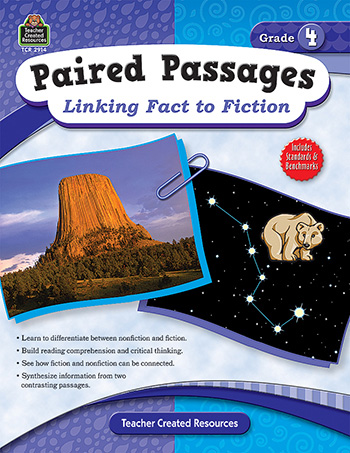 Paired Passages Linking Fact to Fiction: Grade 4
