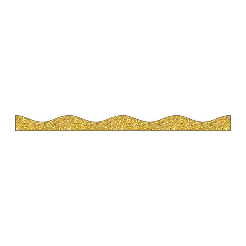 Magnetic Border Gold Sparkle :: Borders :: Bulletin Boards ...