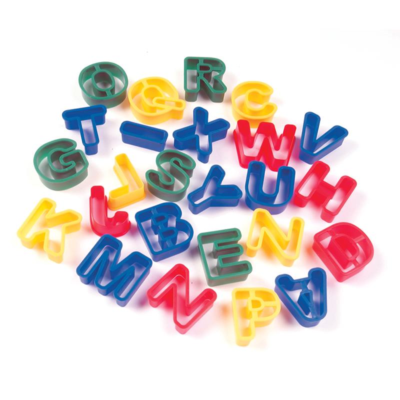 Capital Letters Dough Cutters 26pcs