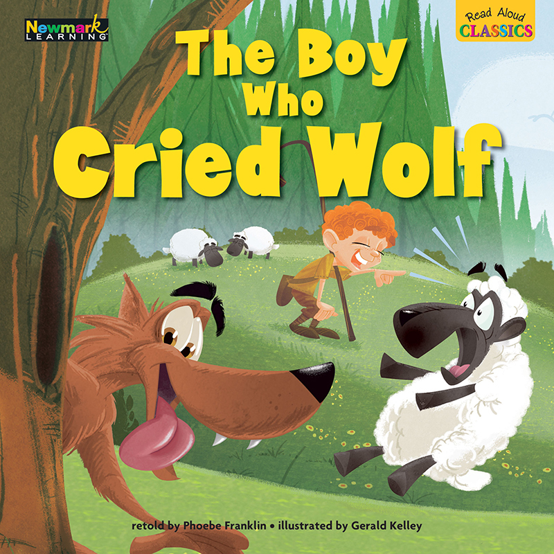 The Boy Who Cried Wolf Read Aloud Classics Lap Books ...