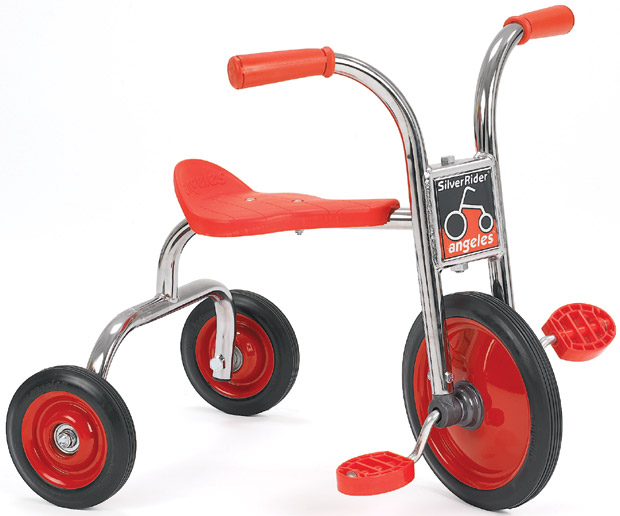 Angeles Silver Rider Replacement Parts : Angeles silver rider quot pedal pusher kids tricycles