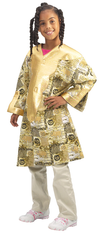 Brand New World Multi Cultural Dramatic Dress Up: Nigerian Kaftan, Ages 4 to 8 :: Brand New ...