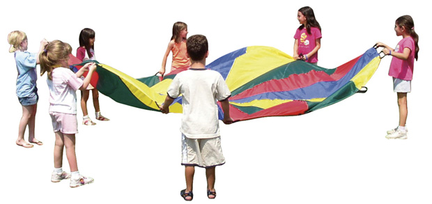 Get Ready Kids 12\' Play Parachute