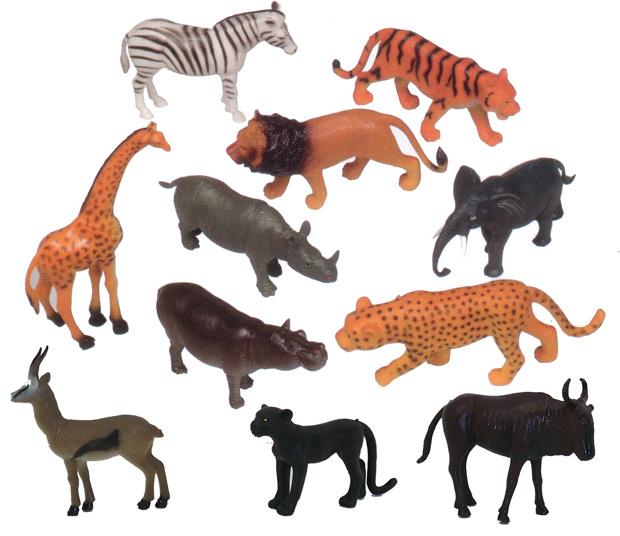 Plastic animals get ready kids plastic animal