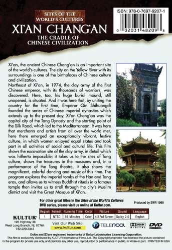 Xi An Chang An The Cradle of Chinese Civilization Sites of the World s Cultures Movie HD free download 720p