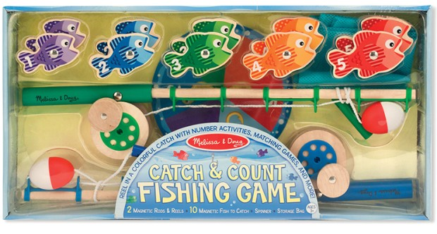 Catch count fishing game activity toys games for Catch and count fishing game