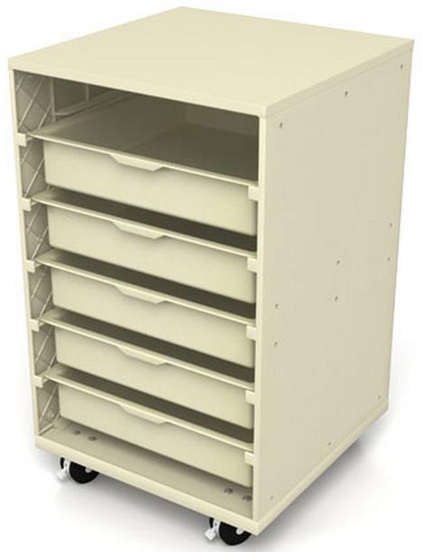 Modular Classroom Suppliers ~ Childbrite modular mega tray mobile storage center