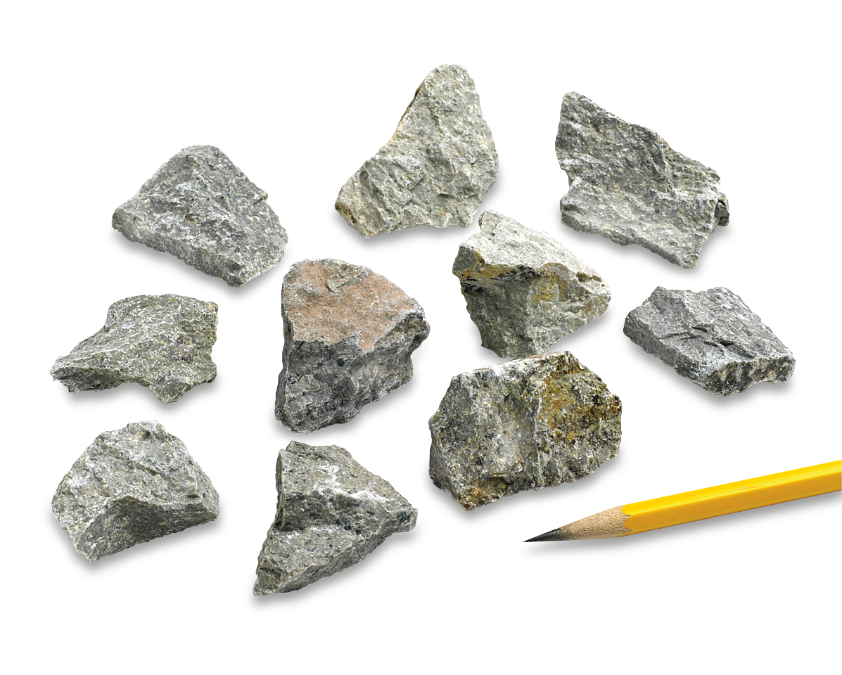 Igneous Rocks Andesite: Pack of 10 :: Igneous :: Earth ...