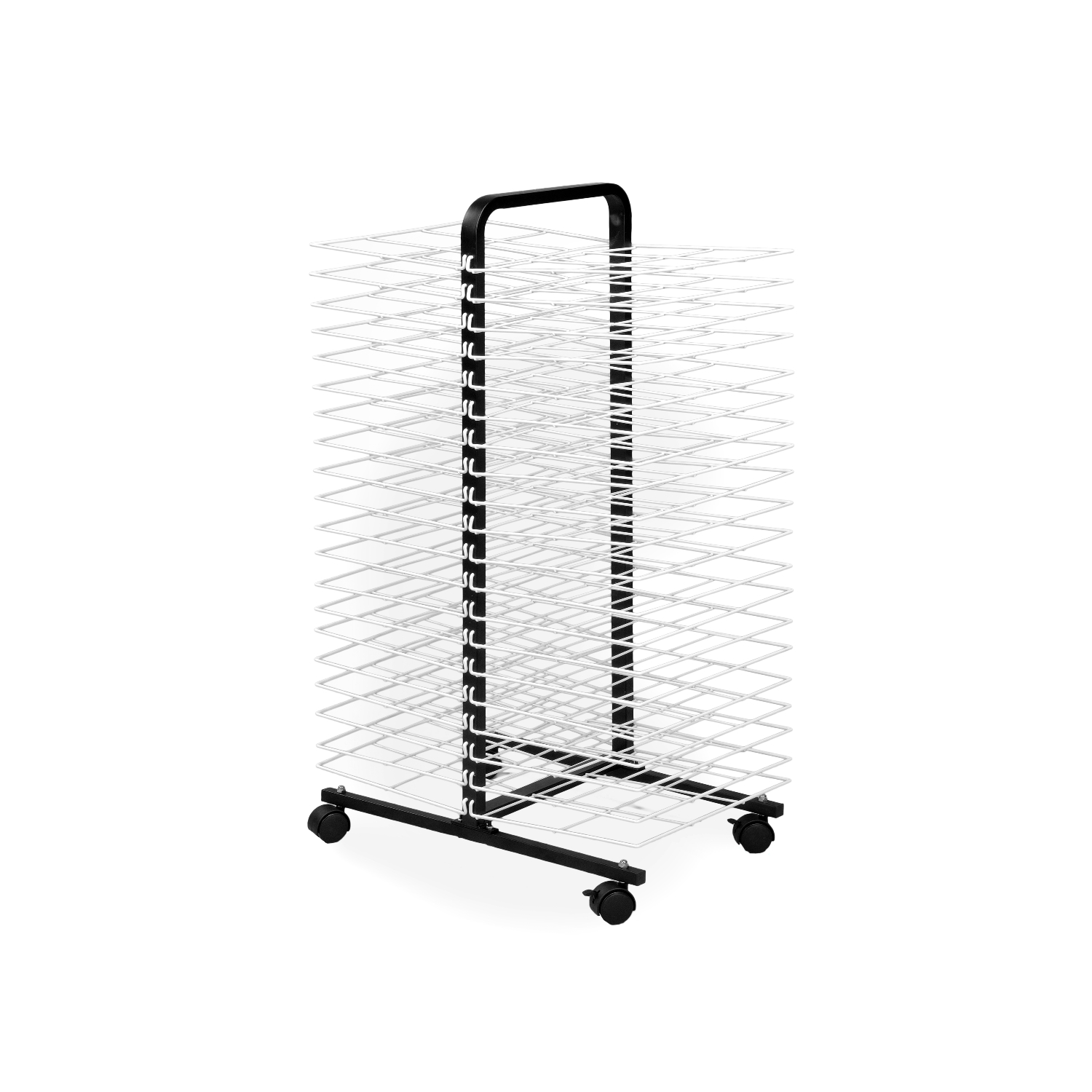 American Educational Drying Rack on Wheels: 40 Shelves, Small :: Storage :: Furniture ...