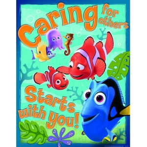 Finding Nemo Caring For Others 17x22 Poster Banners Decoration Classroom Office