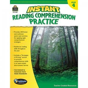 Instant Reading Gr 4 Comprehension Pratice