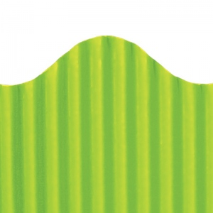 Corrugated Border Lime