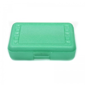 Pencil Box Lime Sparkle
