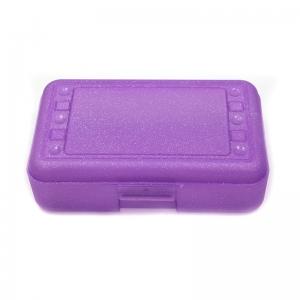 Pencil Box Purple Sparkle