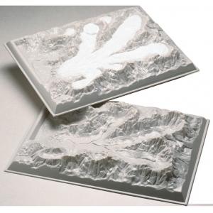 Scott Resources & Hubbard Scientific Alpine Glacier Model: Set of 2