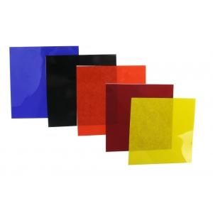 """Color Filter: Gelatin, 4"""" x 4"""", Pack of 5"""