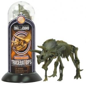Tedco Science Toys Test-Tube Dino Skeletons Triceratops