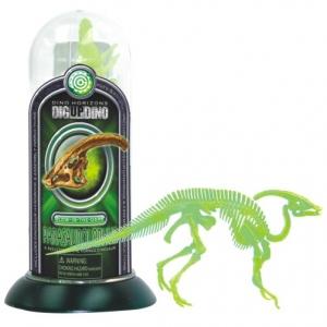 Tedco Science Toys Glow-In-the-Dark Test-Tube Dino Skeletons Parasaurolophus