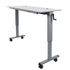 "Luxor 60"" Adjustable flip top Table"