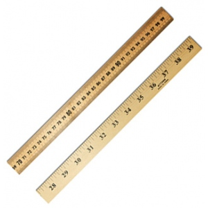 Meter Stick With Hole For Storage