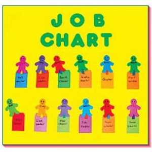 Attendance Job Chart Board by Frog Street Press