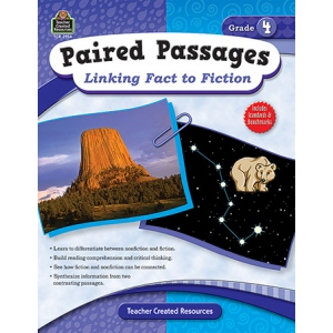 Paired Passages Linking Fact To Fiction Gr 4