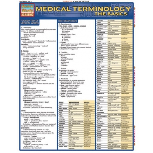 BarCharts Medical Terminology:The Basics Quick Study Guide