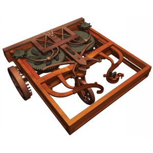 Elenco Leonardo da Vinci Kit: Self-Propelled Cart
