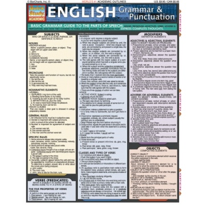 Quick study guides english