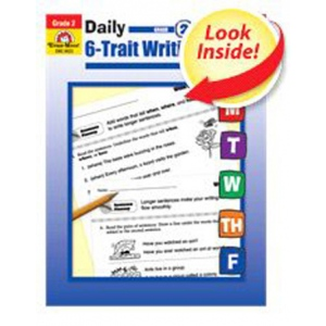 Daily 6-Trait Writing, Grade 4 by Evan-Moor (2008, Paperback)