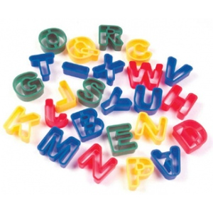 Capital Letters Dough Cutters 26pcs