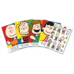 Eureka Bulletin Board Set: Peanuts Characters and Motivational Phrases