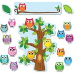Carson-Dellosa Bulletin Board Set: Colorful Owls Behavior