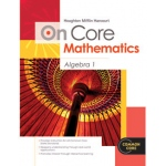 Houghton Mifflin On Core Mathematics Bundles: Algebra 1