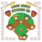 Teacher Created Bulletin Board Set: Look Who's Pitching In