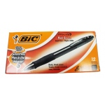 Bic Velocity Bold Pens: Black, 12 Count