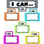 Teacher Created Resources Mini Bulletin Board: I Can