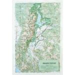 Hubbard Scientific Raised Relief Map: Grand Teton National Park
