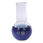 Flat Bottom Bomex Boiling Flask: 50 ml Capacity, #2 Stopper Size