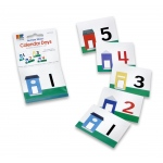 Scott Resources & Hubbard Scientific Number Street Calendar Days Number Line Set