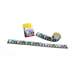 Scott Resources & Hubbard Scientific Street Number Line 0-20 Desk Tape: Pack of 36