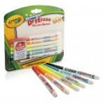 Crayola 6 Color Washable Dry Erase Markers