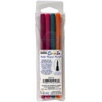 4 Piece Set Brush Tip Bright Colors