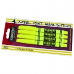 4ct Fine Tip Yellow Highlighter