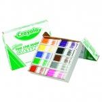 Crayola Washable Classpack 10 Asst Colors 200 Ct Fine Tip