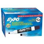 Expo 2 Low Odor Dry Erase Marker Chisel Tip Black
