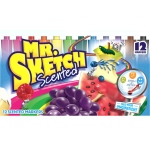 Mr Sketch Scented Chisel 12ct