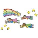 Super Kid Job Assignment Kid-Drawn BB Set by Carson Dellosa