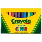 Colored Drawing Chalk Assorted by Crayola