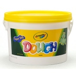 Modeling Dough Bucket: Yellow, 3 Lbs by Crayola